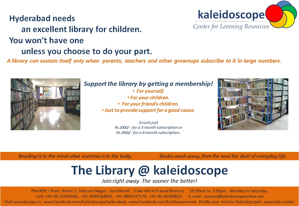 Kaleidoscope Library Poster2 2015