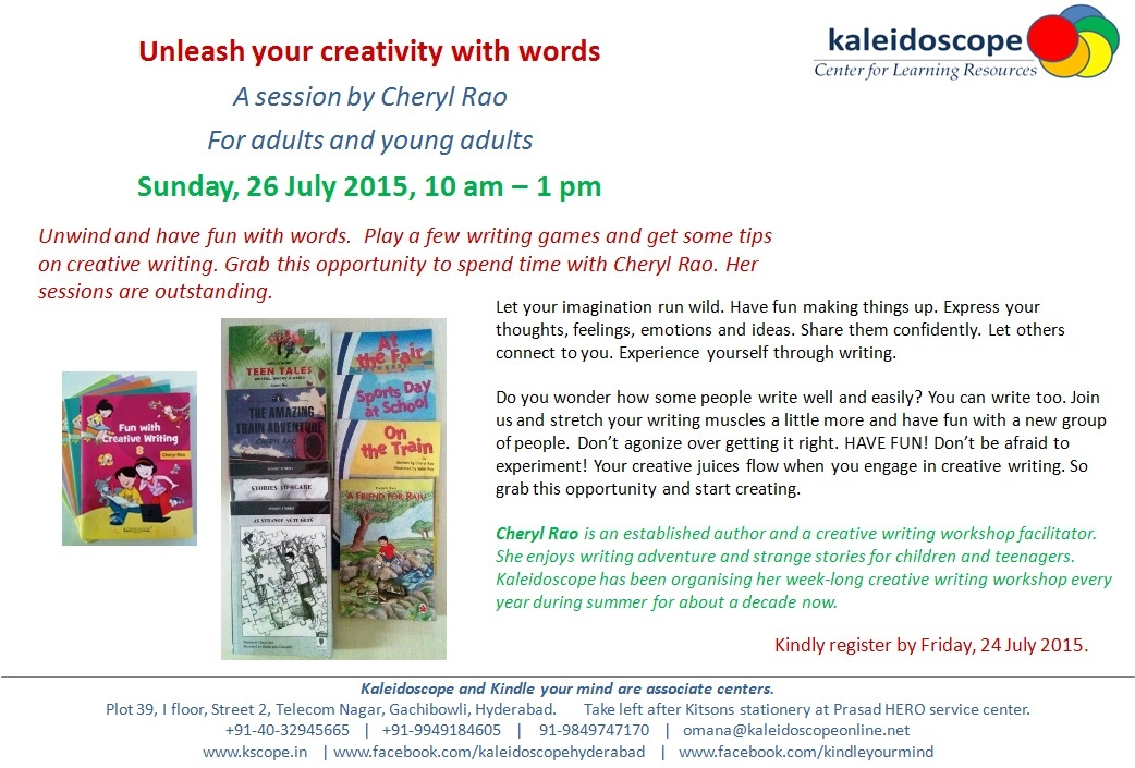 Kscope Unleash your creativity with words July 2015